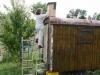 Aufstellen des Hornissenkasten